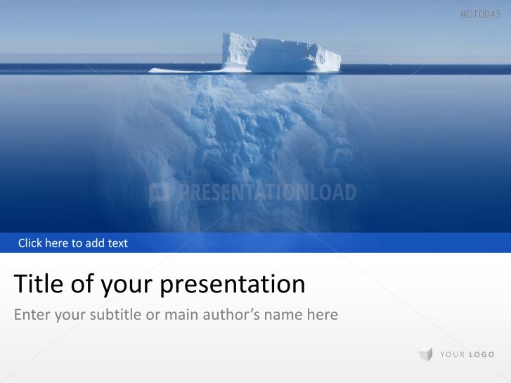 Eisberg _https://www.presentationload.de/eisberg.html
