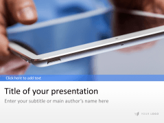 Tablet _https://www.presentationload.de/tablet.html