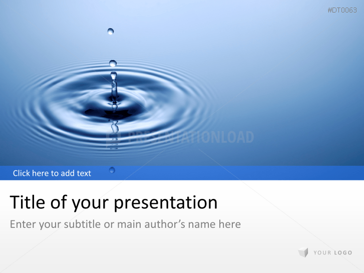 Water Drop 1 _https://www.presentationload.com/water-drop-1.html
