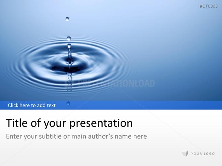 Wassertropfen 1 _https://www.presentationload.de/wassertropfen-1.html