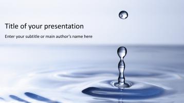 Wassertropfen 2 _https://www.presentationload.de/wassertropfen-2.html