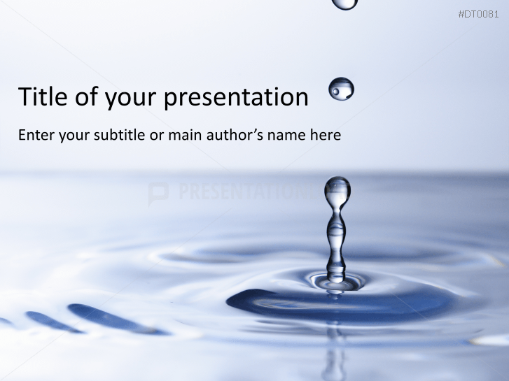 Water Drop 2 _https://www.presentationload.com/water-drop-2-1.html