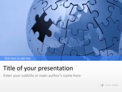 Puzzle Globus _https://www.presentationload.de/puzzle-globus.html