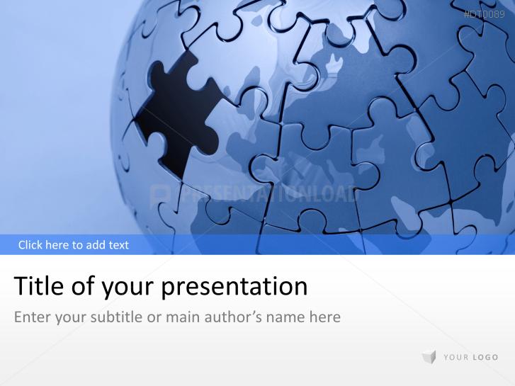 Puzzle Globe _https://www.presentationload.com/puzzle-globe-1-2.html