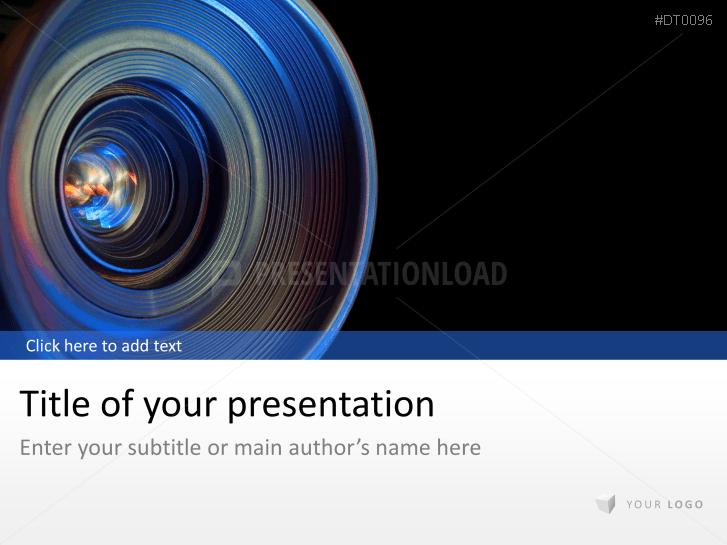 Lente con objetivo _https://www.presentationload.es/lens-1.html