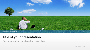 Büro im Grünen _https://www.presentationload.de/buero-im-gruenen.html