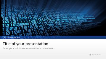 Digitaler Code _https://www.presentationload.de/digitaler-code.html