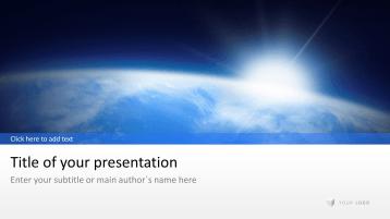 Erd-Ansicht _https://www.presentationload.de/ansicht-erde.html