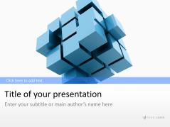 3D Cube 1 _https://www.presentationload.de/wuerfel-3d-1.html