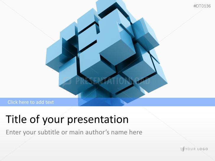 3D Cube 1 _http://www.presentationload.de/wuerfel-3d-1.html