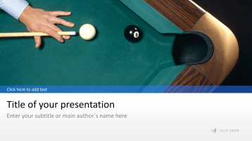 Billard - Pool _https://www.presentationload.com/billard-pool.html
