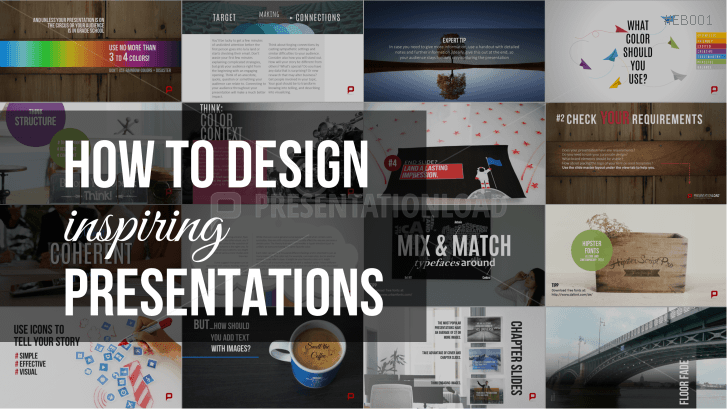 Free eBook - How to Design Inspiring Presentations _https://www.presentationload.com/ebook-how-to-design-inspiring-presentations-en.html
