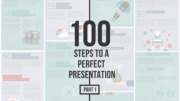 100 Steps to a Perfect Presentation: Part 1 _https://www.presentationload.com/100-steps-to-a-perfect-presentation-part-1-en.html