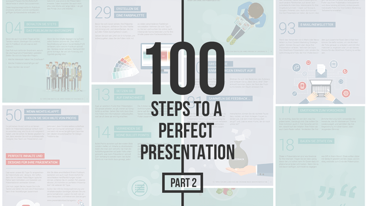 100 Steps to a Perfect Presentation: Part 2