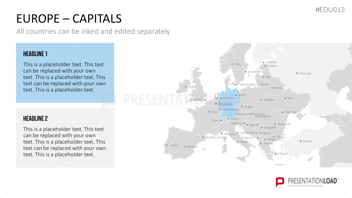 University Powerpoint Template Europe Capitals Powerpoint Template Presentationload