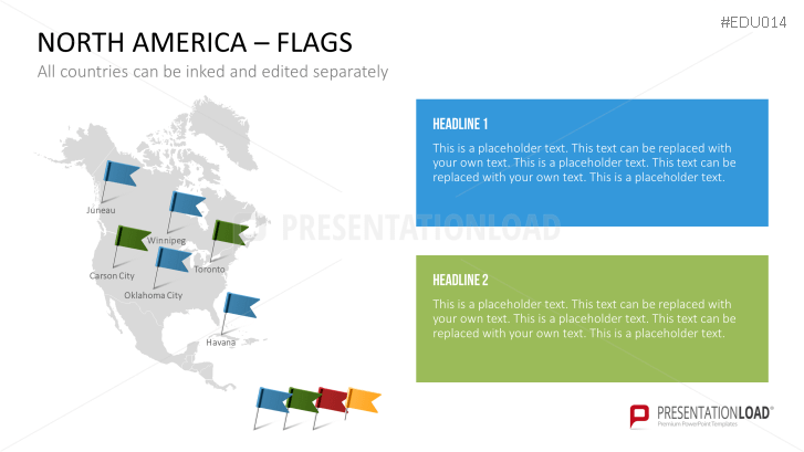 presentationload university powerpoint template north america