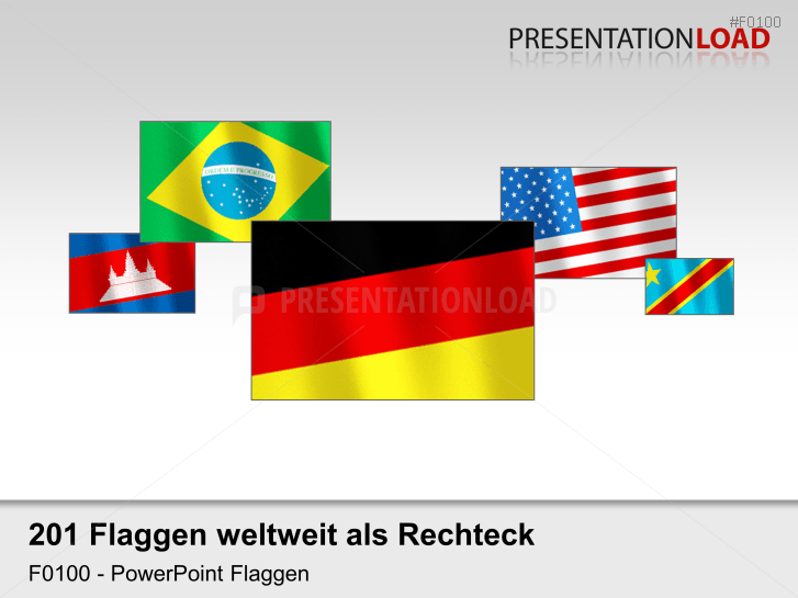 Welt-Set - Flaggen im Wind _https://www.presentationload.de/flaggen-welt-set-im-wind.html