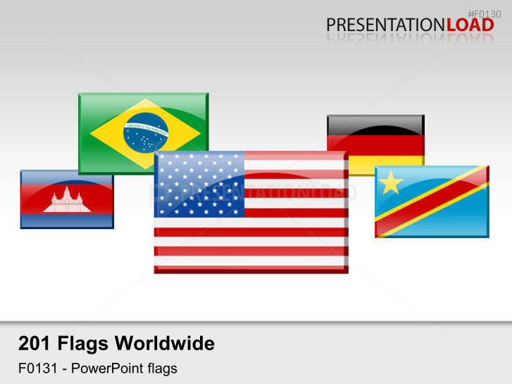 Powerpoint Flag Icons Of The World S Countries