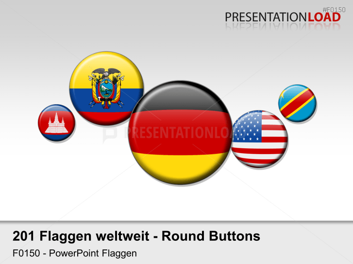 Welt-Set - Runde Buttons _https://www.presentationload.de/flaggen-welt-set-runde-buttons.html