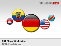 World Flags - Round Buttons _https://www.presentationload.com/flag-world-round-buttons.html