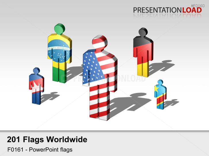 World Flags - Figures _https://www.presentationload.com/flag-world-manikins.html