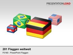 Welt-Set - Würfel _https://www.presentationload.de/flaggen-welt-set-wuerfel.html