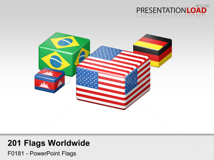 World Flags - Cubes _https://www.presentationload.com/flag-world-cubes.html