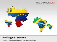 Welt-Set - Länderkonturen _https://www.presentationload.de/flaggen-welt-set-laenderkonturen.html
