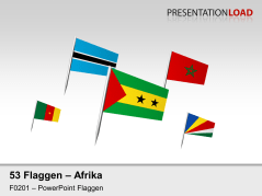 Afrika - Fähnchen _https://www.presentationload.de/flaggen-afrika.html