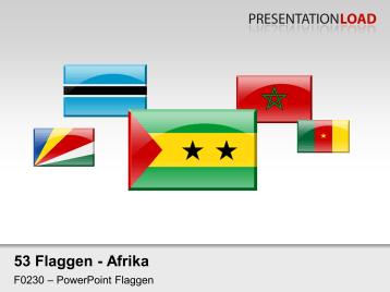 Afrika - Glasbuttons _https://www.presentationload.de/flaggen-afrika-glasbuttons.html