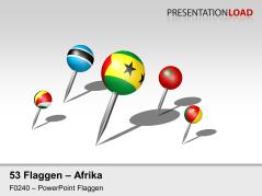 Afrika - Pins 3D _https://www.presentationload.de/flaggen-afrika-pins-3d.html