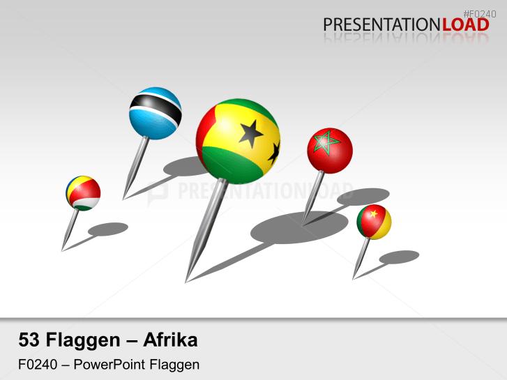 Afrika - Pins 3D