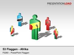 Afrika - Männchen _https://www.presentationload.de/flaggen-afrika-maennchen.html