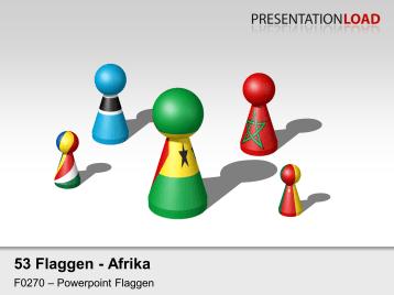 Afrika - Spielfiguren _https://www.presentationload.de/flaggen-afrika-spielfiguren.html