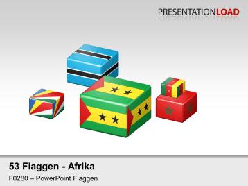 Afrika - Würfel _https://www.presentationload.de/flaggen-afrika-wuerfel.html