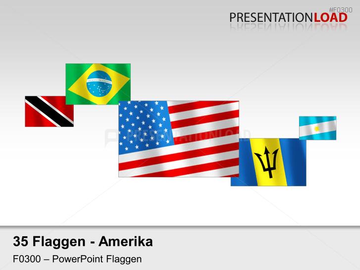 Amerika - Flaggen im Wind _https://www.presentationload.de/flaggen-amerika-wind.html