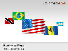 Americas Flags - Blowing in the wind _https://www.presentationload.com/flag-americas-wind.html