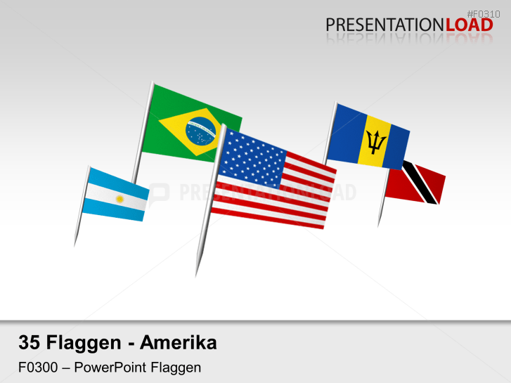 Amerika - Fähnchen _https://www.presentationload.de/flaggen-amerika-faehnchen.html