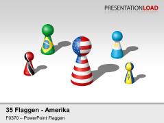 Amerika - Spielfiguren _https://www.presentationload.de/flaggen-amerika-spielfiguren.html