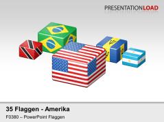 Amerika - Würfel _https://www.presentationload.de/flaggen-amerika-wuerfel.html