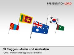 Asien / Pazifik - Fähnchen _https://www.presentationload.de/powerpoint-landkarten/flaggen-icons/Asien-Pazifik-Faehnchen.html
