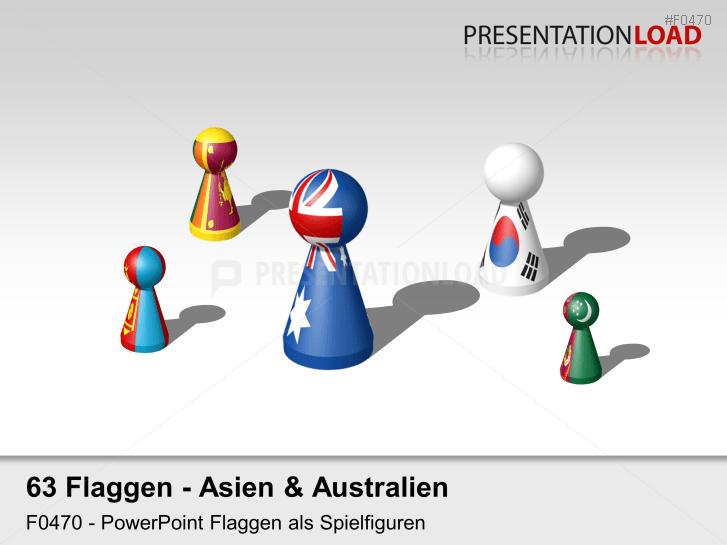 Asien / Pazifik - Spielfiguren