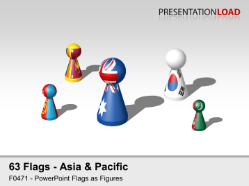 Asia & Pacific - Figures _https://www.presentationload.com/flag-asia-pacific-game-pieces.html