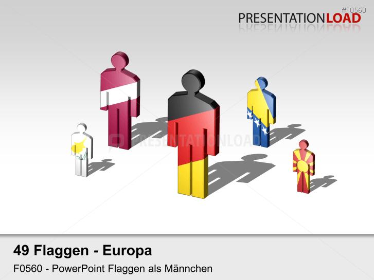 Europa-Set - Männchen _https://www.presentationload.de/flaggen-europa-set-maennchen.html