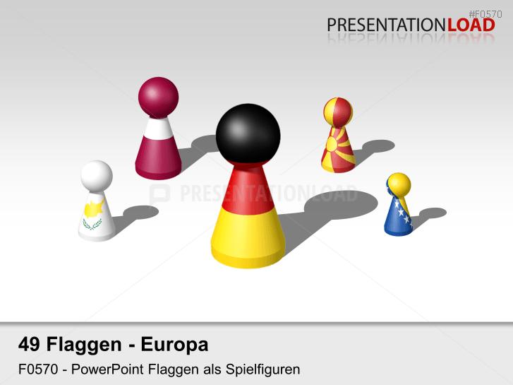 Europa-Set - Spielfiguren