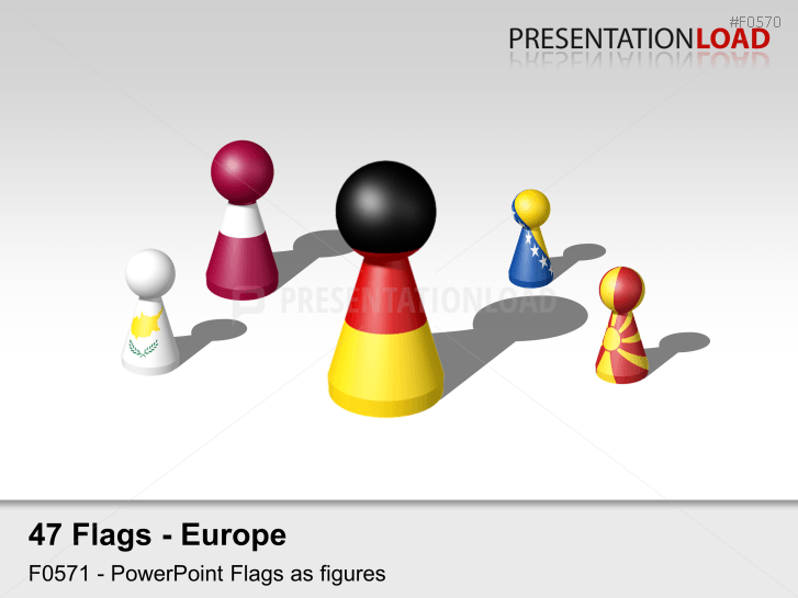 Europe Flags - Figures