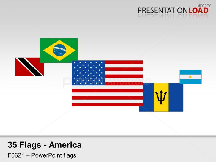 Americas Flags - Flags 2D _https://www.presentationload.com/flag-americas-2d.html