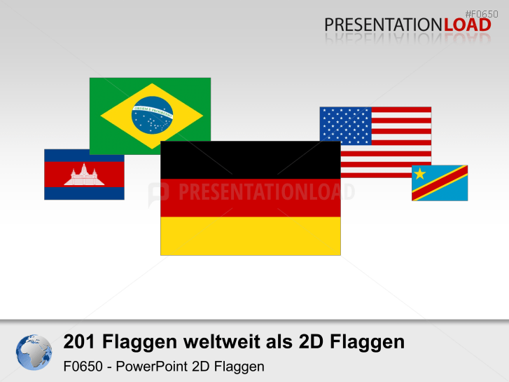 Weltset - Flaggen 2D _https://www.presentationload.de/flaggen-weltset-2d.html