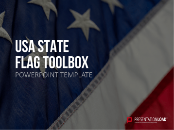 USA States - Flags _https://www.presentationload.com/flag-usa-states-glass-buttons.html