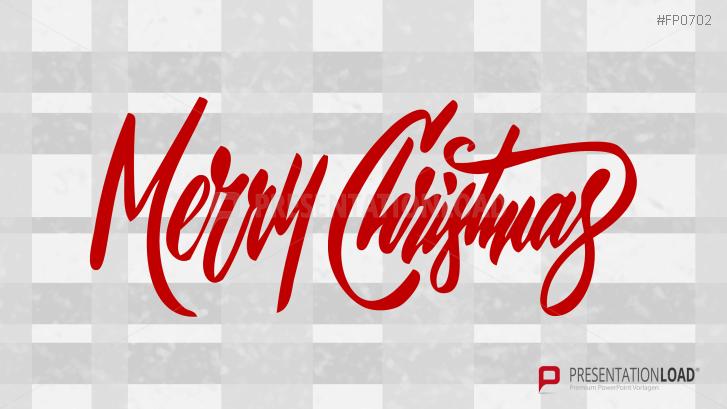Weihnachtsvorlagen Merry Christmas Schriftzug _https://www.presentationload.de/weihnachtsvorlagen-merry-christmas-schriftzug.html